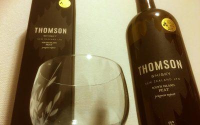 THOMSON WHISKYを飲んでみた!人生最後かもしれない味